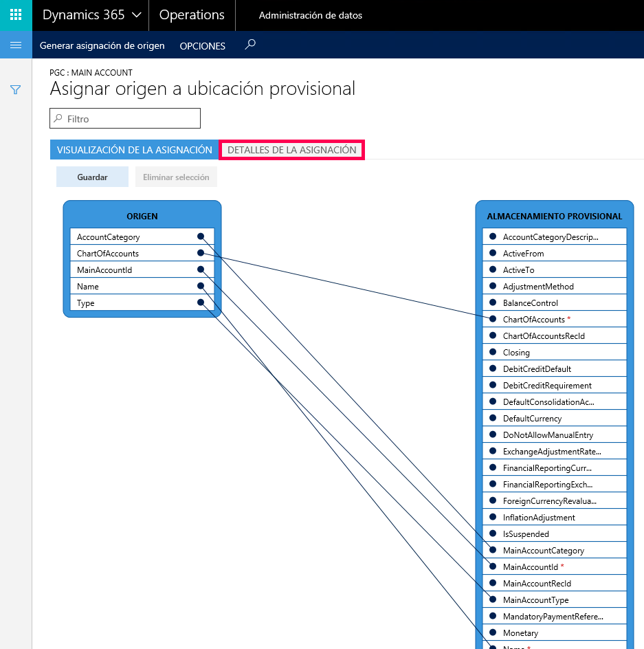 Data Management en Dynamics 365 for Operations: Importación de datos maestros Axazure