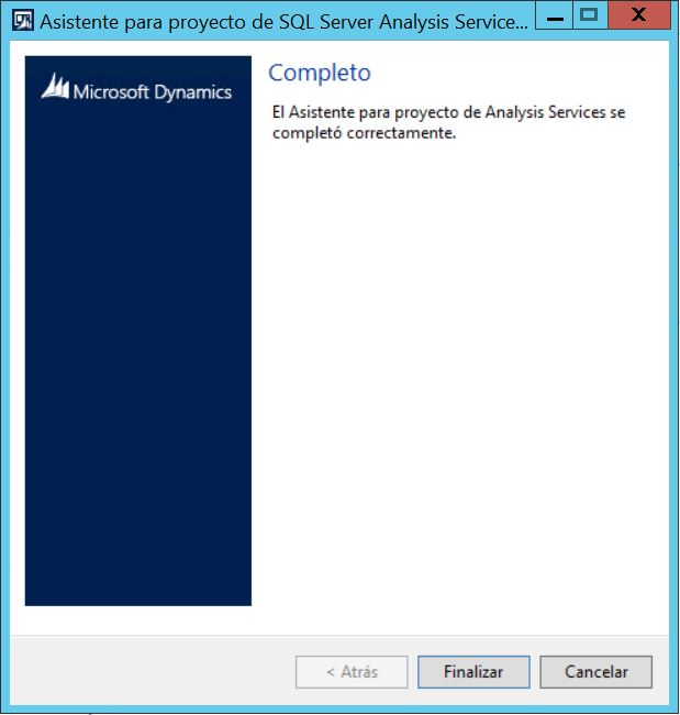 Instalación y Configuración de Analysis Services en Dynamics AX 2012 R3