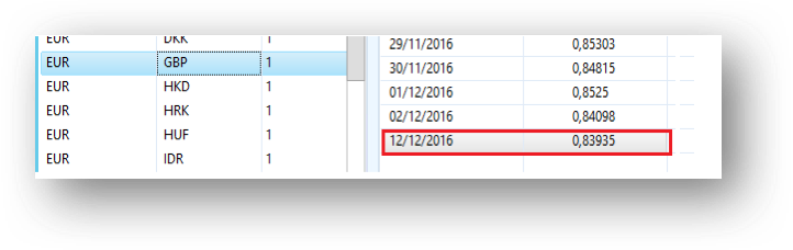 Actualización automática del tipo de cambio en Dynamics AX 2012 R3 Axazure