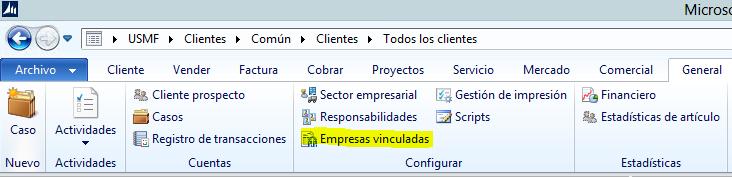 Facturación de Proyectos de empresas vinculadas (intercompany) en Microsoft Dynamics AX 2012 R3. Axazure