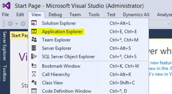 Buscar objetos en el AOT del Nuevo Microsoft Dynamics AX (AX7) Axazure