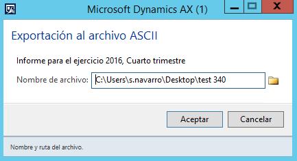 ¿Problemas con el fichero 340 extraído de Dynamics AX al subirlo a Hacienda? Axazure