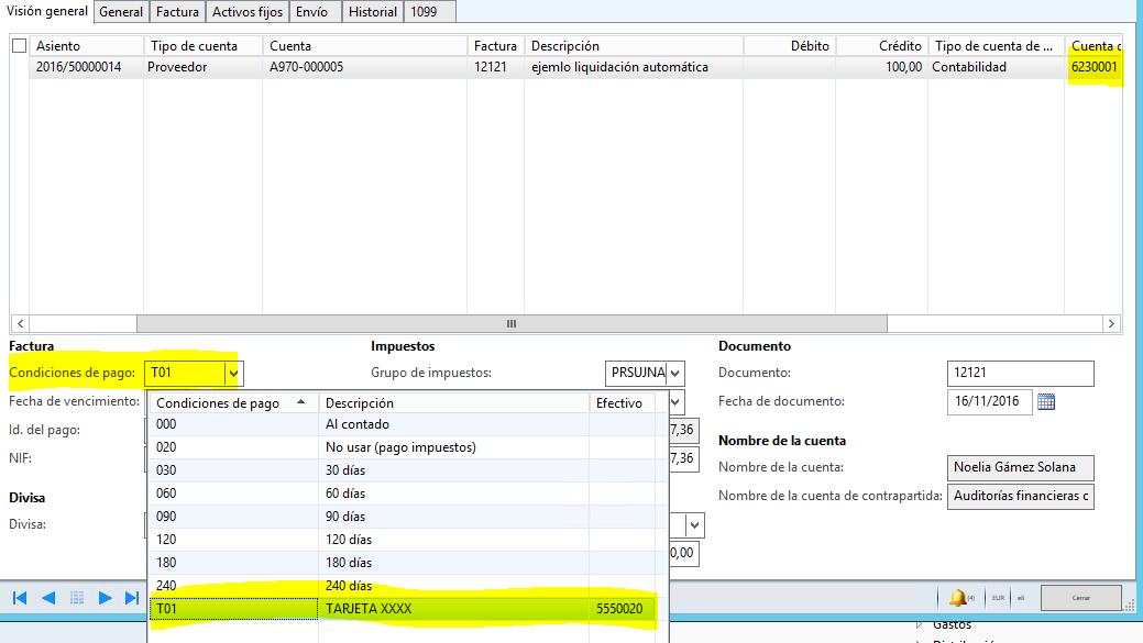 Autoliquidación de facturas en AX 2012 R3 (3 pasos en 1) Axazure