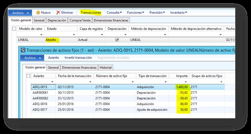 Mejoras vs. Revalorización de Activos Fijos en AX 2012 R3 Axazure