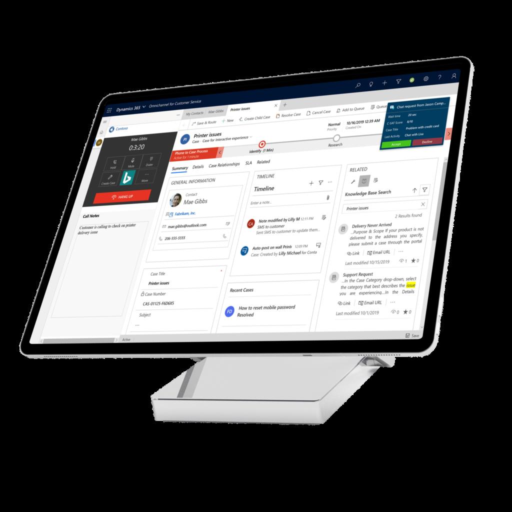 MS Dynamics 365 Customer Service Axazure