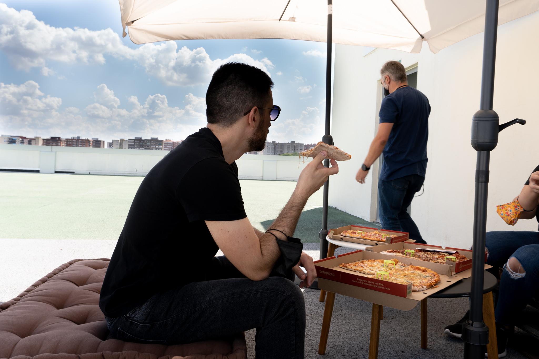 ¿Quieres pizza? Axazure