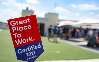 People, the center of everything. Our return is certified as GPTW Axazure