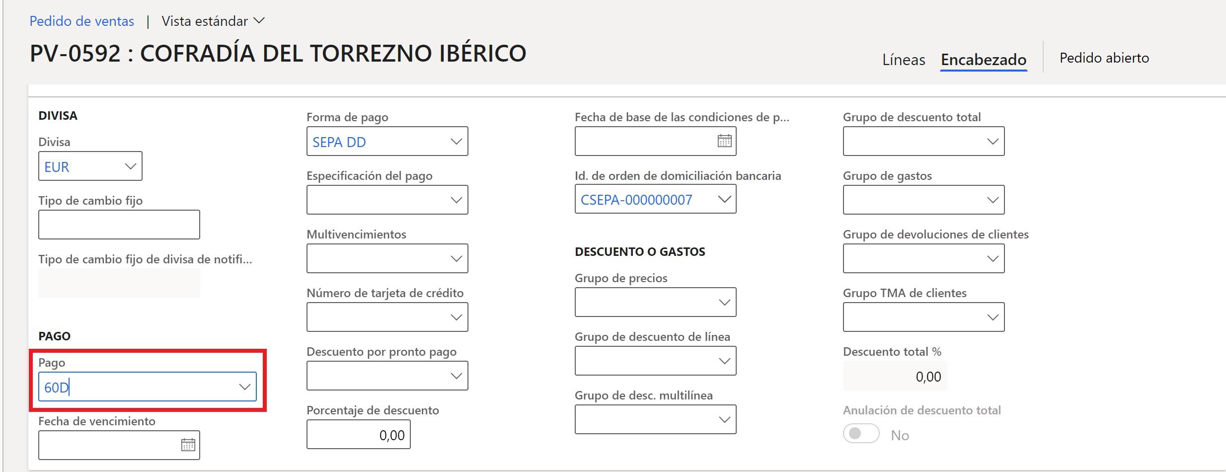 Bloqueos automáticos de pedidos I Axazure